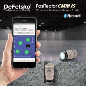 Defelsko PosiTector CMM IS Series เซนเซอร์สำหรับวัดค่าความชื้นและอุณหภูมิในแผ่นพื้นคอนกรีต (Concrete Moisture)