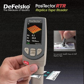 DeFelsko PosiTector PRB-RTR Series เครื่องวัดลักษณะของพื้นผิวเคลือบ Replica Tape Reader