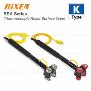 Rixen RSK Series โพรบวัดอุณหภูมิพื้นผิวแบบมีล้อ (Type K)
