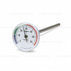 SK Sato SK-1408-00 Bimetal Thermometer for Soil