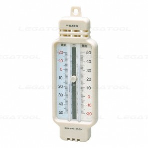 skSATO SK-1506-50 U-Tube Type Min-Max Thermometer (-40 to 50°C)