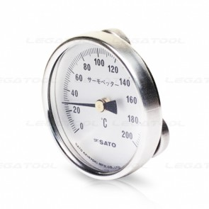 SK-2340-20 Surface (Magnetic) Bimetal Thermometer (0 to 200℃)