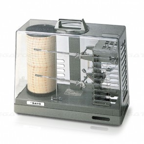 skSATO SK-7215-00 NSII-S Sigma II Thermohygrograph (Spring-wound type)