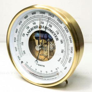 SK Sato SK-7610-20 Aneroid Barometer with Thermometer
