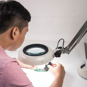 Otsuka SKK-CF-8X Illuminated magnifier (Round Series) without dimmer