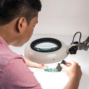 Otsuka SKKL-CF Series โคมไฟแว่นขยาย (Compact free-arm illuminated magnifier)