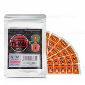 NiGK T3-100A Temperature Label (100 | 110 | 120℃) | 40pcs/ 1pack
