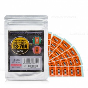 NiGK T3-70A Temperature Label (70 | 80 | 90℃) | 40pcs/ 1pack
