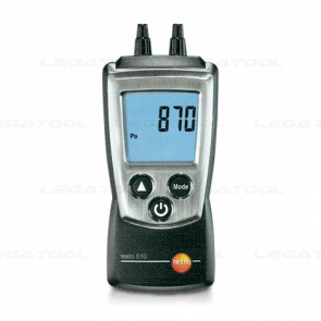 Testo-510-Set เครื่องวัด Differential Pressure และความเร็วลม