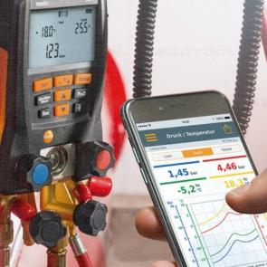 Testo-55x-Set Series เกจวัดน้ำยาแอร์แบบดิจิตอลสำหรับงาน HVAC (Bluetooth)