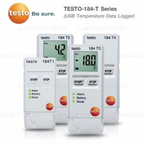 Testo-184 Series USBบันทึกค่าอุณหภูมิ | ความชื้น | แรงกระแทก เหมาะกับงานขนส่งสินค้า