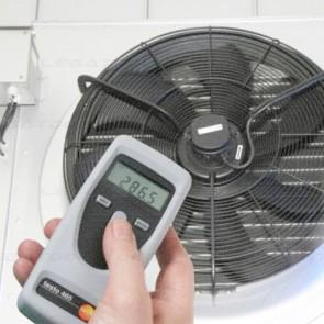 Testo 465 Non-contact rpm measurement