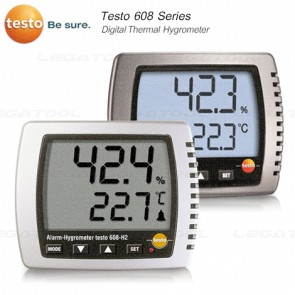 Testo 608 Series Digital Thermohygrometer
