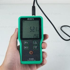 Rixen TH-3800 Series เครื่องวัดอุณหภูมิและความชื้น