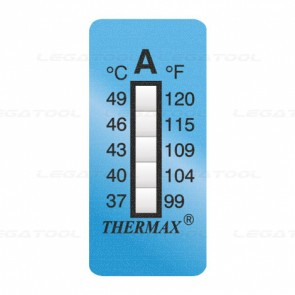 THERMAX 5A Temperature Label 5 Level Strips