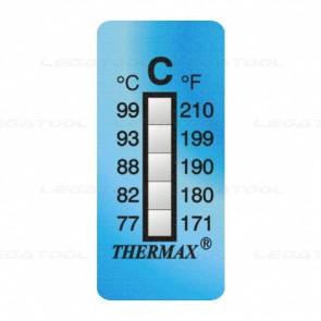 THERMAX 5C Temperature Label 5 Level Strips