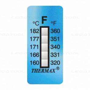 THERMAX 5F Temperature Label 5 Level Strips
