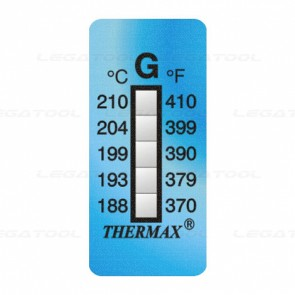 THERMAX 5G Temperature Label 5 Level Strips