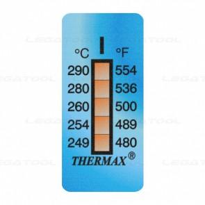 THERMAX 5I Temperature Label 5 Level Strips