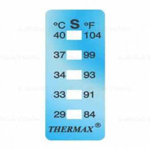 THERMAX 5S Temperature Label 5 Level Strips