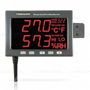 Tenmars TM-185D เครื่องวัดอุณหภูมิและความชื้น