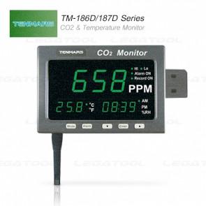 Tenmars TM-186D/ 187D Series เครื่องวัดก๊าซคาร์บอนไดออกไซด์