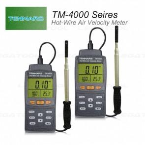 Tenmars TM-4000 Series เครื่องวัดความเร็วลมและปริมาตรลม