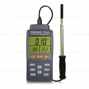 Tenmars TM-4001 เครื่องวัดความเร็วลมและปริมาตรลมแบบ Hot-Wire