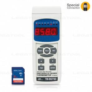 Lutron TM-9027SD Temperature Data Logger 2 Channels (Pt100 ohm) | SD Card