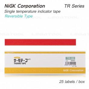 NiGK TR Series แถบวัดอุณหภูมิแบบ Reversible single temp. | 40 to 70°C | 25pcs/ 1pack