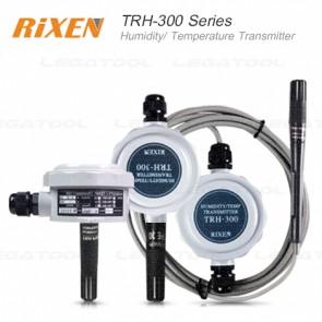 Rixen TRH-300 Series ทรานสมิตเตอร์วัดอุณหภูมิและความชื้นในอากาศแบบติดตั้ง