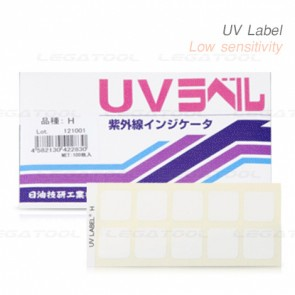 NiGK UV-L UV Label Medium sensitivity | 100pcs/ 1pack