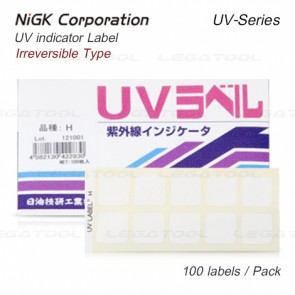 NiGK UV Series UV indicator label | 100pcs./ 1pack