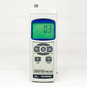Lutron VB-8206SD Vibration Meter - SD Card Data Logger