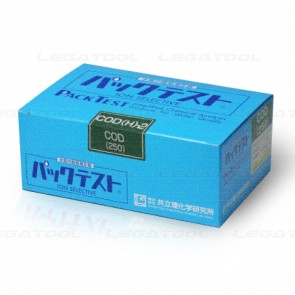 Kyoritsu Packtest WAK-COD(H)-2 ชุดทดสอบคุณภาพน้ำซีโอดี COD (High Range)