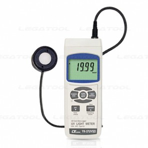 YK-37UVSD UVA UVC Meter (SD Card Data Logger)
