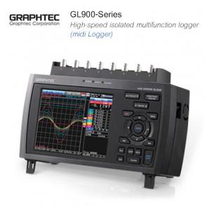 Graphtec GL900-Series High-speed isolated multifunction logger (midi Logger)