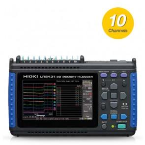 Hioki LR8431-20 High-Speed Data Logger (10-Channels)