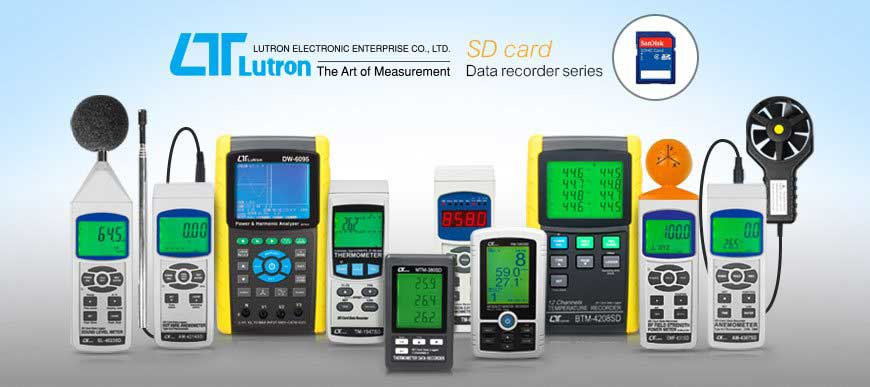 Lutron SD card Data recorder series