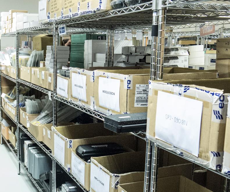 Legatool stockroom