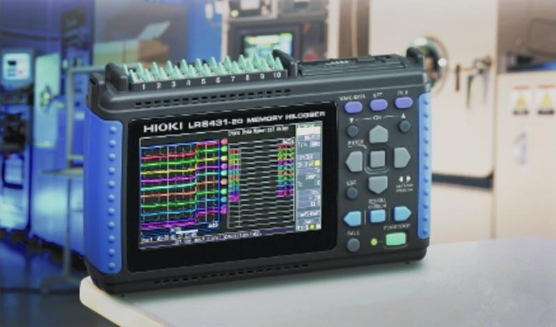 เครื่องวัดอุณหภูมิ Recorder & Data Logger