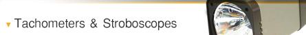 Tachometers & Stroboscopes