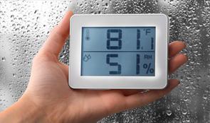 เครื่องวัดอุณหภูมิความชื้น