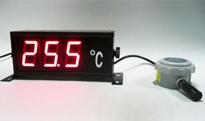 เครื่องควบคุมและแสดงผลอุณหภูมิ