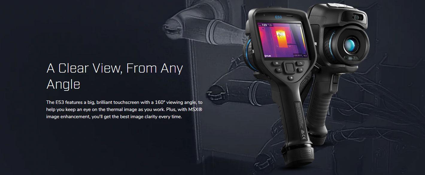FLIR E53 กล้องถ่ายภาพความร้อน (240×180 Pixels)