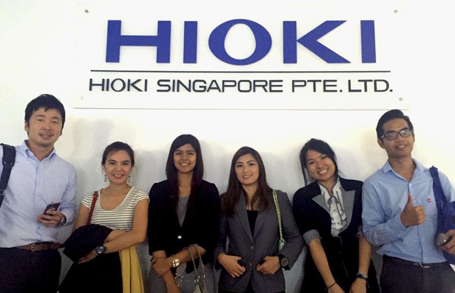 HIOKI training in Singapore office