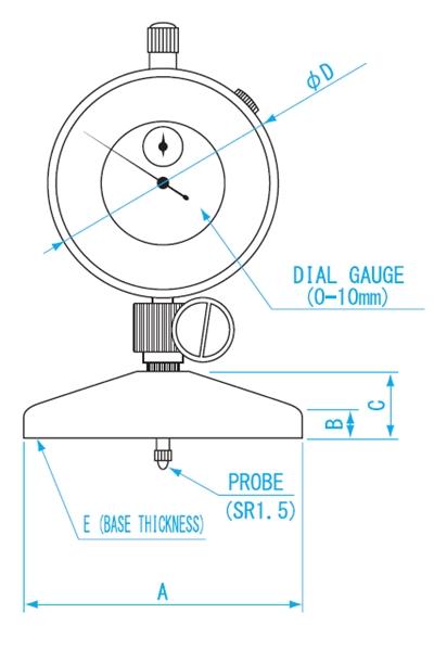 Niigataseiki Dial gauges