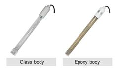 เลือกโพรบวัดบอดี้ เป็นแบบ Glass body หรือ Plastic (epoxy) body