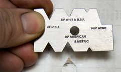 ACME Screw Thread Gauge