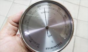 เครื่องวัดอุณหภูมิความชื้นแบบอนาล็อก